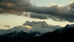 Swiss Alps Stock Footage