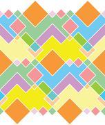 seamless pattern of rectangles - stock illustration