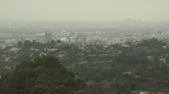 Aerial View of Los Angeles, California 2 Stock Footage