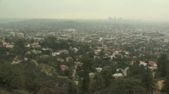 Aerial View of Los Angeles, California 5 Stock Footage