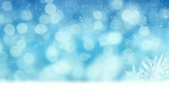 Loopable winter background Stock Footage