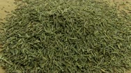 Dried rosemary Stock Footage