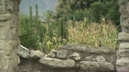 Stock Video Footage of Scenic View From An Ancient Building in Mexico