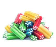 liquorice candies - stock photo