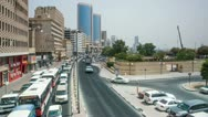 Stock Video Footage of Traffic in Dubai - Deira HD Timelapse