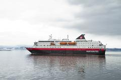Hurtigruten3.jpg Stock Photos