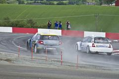 Rallycross1.jpg Stock Photos