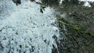 Frozen Waterfall 1 Stock Footage