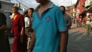 Bodhanath Kathmandu 3 Stock Footage