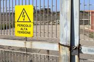 Stock Photo of alta tensione