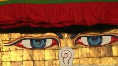 Bodhanath Kathmandu 8 Stock Footage