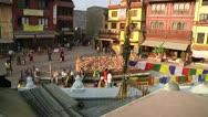 Bodhanath Kathmandu 11 Stock Footage