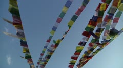 Bodhanath Kathmandu 16 - stock footage