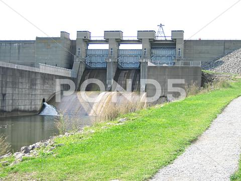Stock photo of Dam The Water