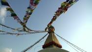 Bodhanath Kathmandu 18 Stock Footage