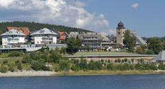 Pictorial schluchsee in southern germany Stock Photos