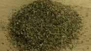 Dried oregano Stock Footage