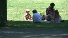 A delightful day at the park (3 of 16) Stock Footage