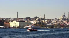 Istanbul Valide Sultan Mosque Stock Footage