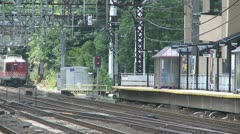 South Norwalk Train Station (3 of 5) Stock Footage