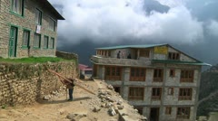 Namche 7 Stock Footage