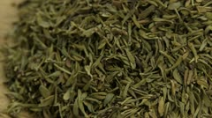 Dried thyme Stock Footage