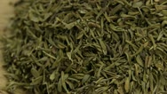 Stock Video Footage of Dried thyme