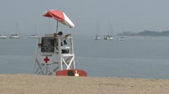 Glorious day at the beach (3 of 14) Stock Footage
