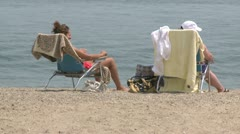Glorious day at the beach (11 of 14) Stock Footage