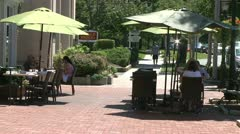 Dining alfresco (5 of 7) - stock footage
