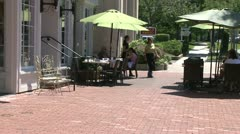 Dining alfresco (4 of 7) - stock footage