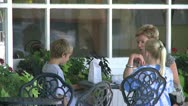Stock Video Footage of Dining alfresco (3 of 7)