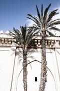 Morocco. marrakech. koutoubia mosque Stock Photos