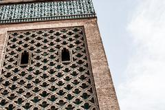 Morocco. marrakech. koutoubia mosque Stock Photos