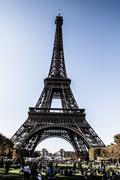 the eiffel tower is one of the most recognizable landmarks in the world. - stock photo