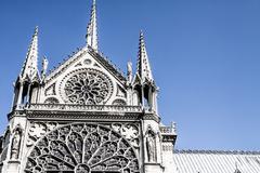 Cathedral notre dame de paris, france, europe Stock Photos