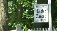 Keeler Tavern (1 of 1) Stock Footage