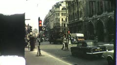 THE RITZ Restaurant Piccadilly LONDON 1970s Vintage Film Home Movie 4286 - stock footage