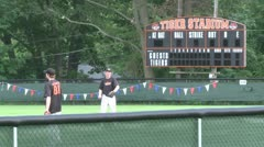 Tigers baseball practice (4 of 6) - stock footage