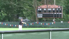 Tigers baseball practice (6 of 6) - stock footage