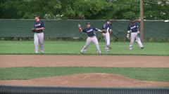 Tigers baseball practice (5 of 6) - stock footage