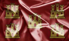 Stock Illustration of flag of poitou charentes