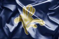 Brussels flag Stock Illustration