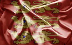 Flag of flag of haute normandie Stock Illustration