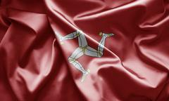 Flag of the isle of man Stock Illustration