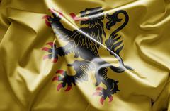 Stock Illustration of flag of nord-pas-de-calais