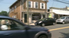 Crossing village streets (7 of 10) Stock Footage