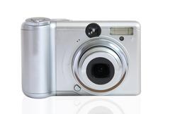 Photographic camera Stock Photos