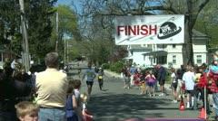 Marathon runners (7 of 10) Stock Footage