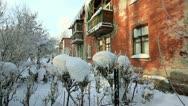 Winter in Siberia Stock Footage